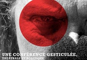 affiche_conference_gesticulee_theatrale_politique